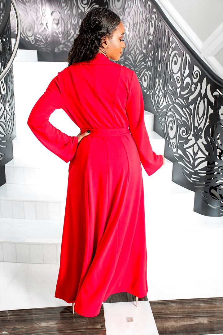 Royal Duster - Baciami Red