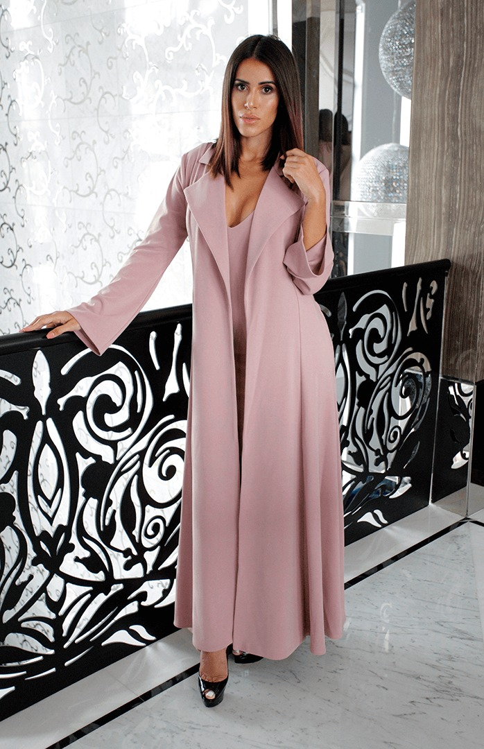 Baciami Royal Duster Dusty Rose-02