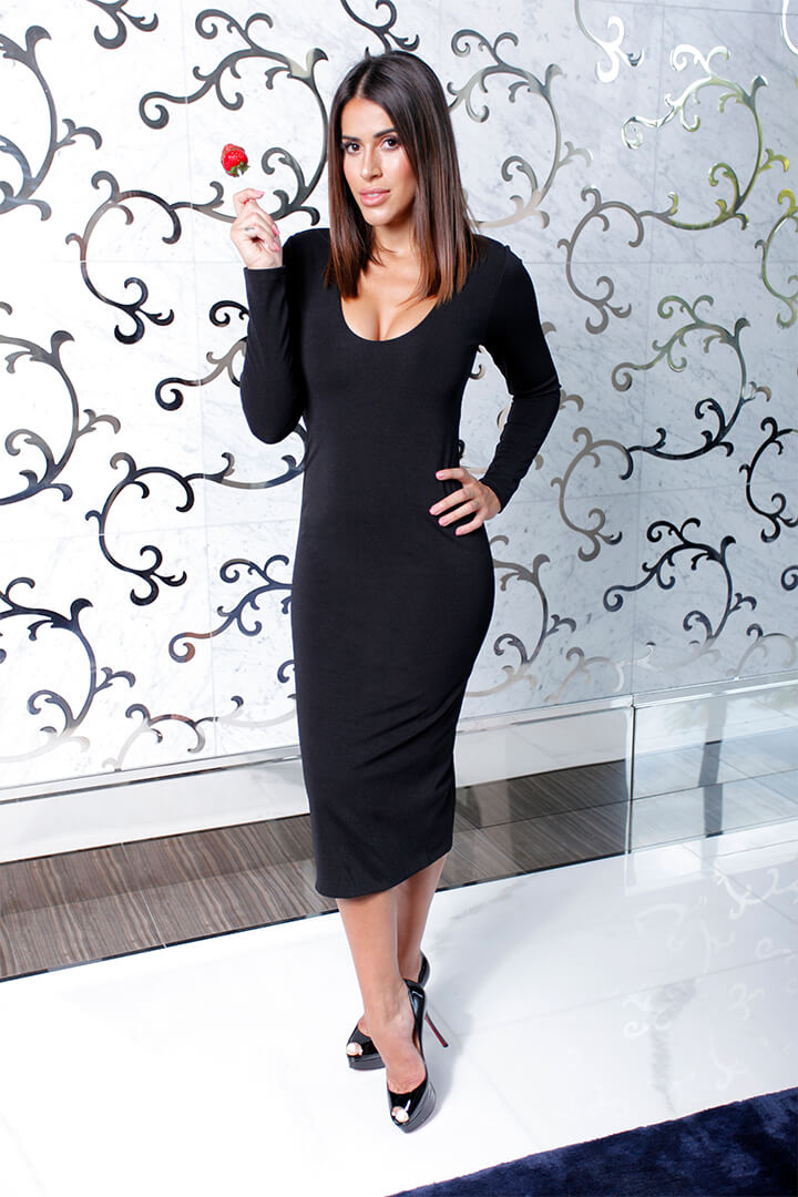 Long Dress Black 01