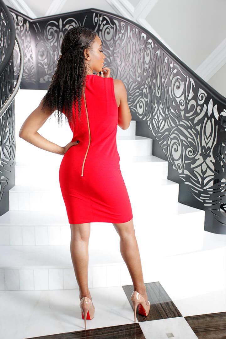 Mini Dress Baciami Red 02