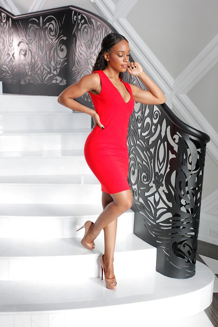 Mini Dress Baciami Red 03