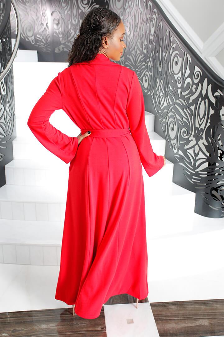 Mini Dress Baciami Red 04