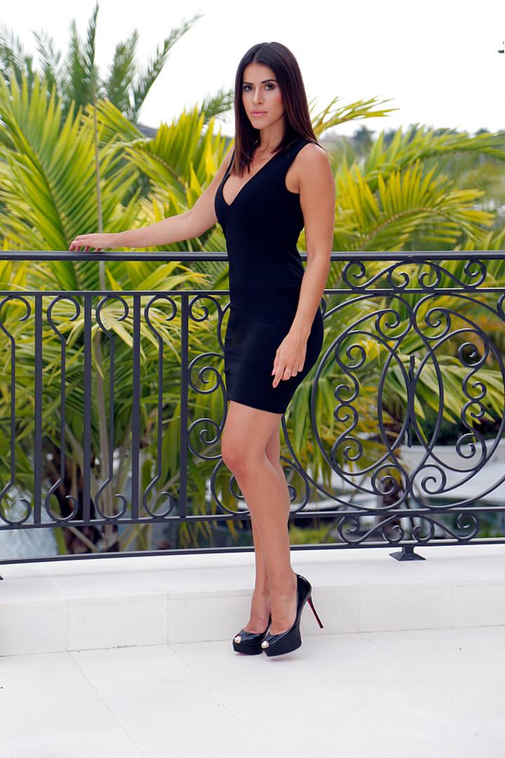 Mini Dress Black 01