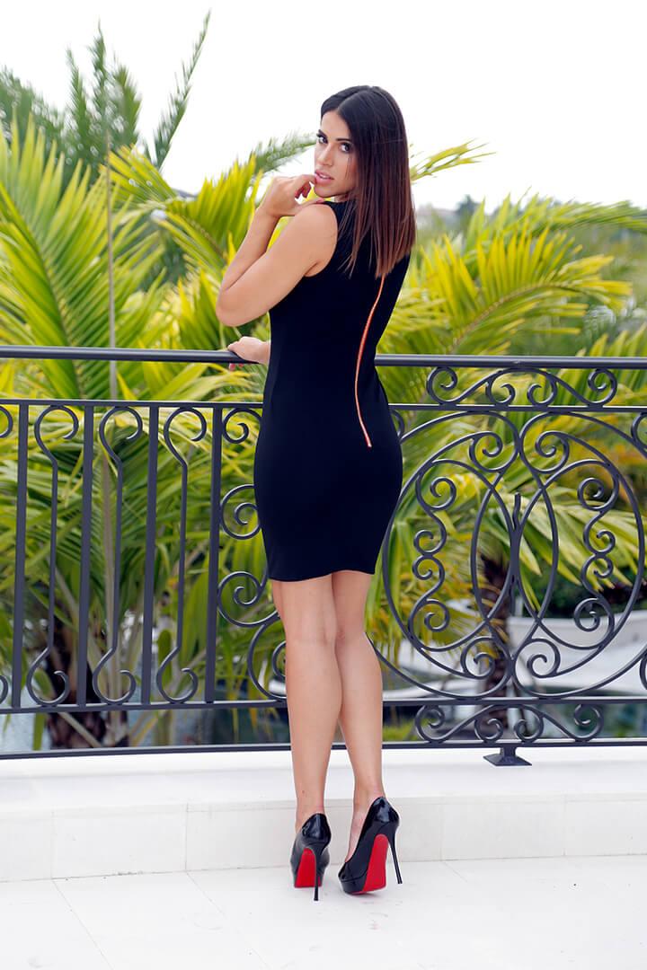 Mini Dress Black 02