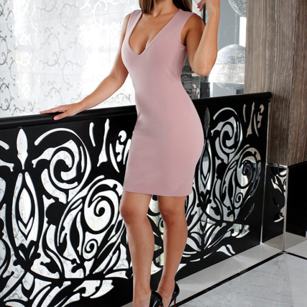 Mini Dress Dusty Rose 01