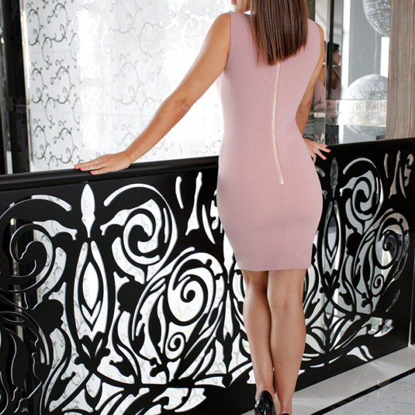 Mini Dress Dusty Rose 02